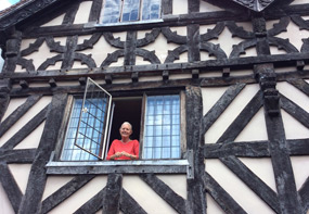 Our home swap in this wonderful house from the 1600s in Ludlow